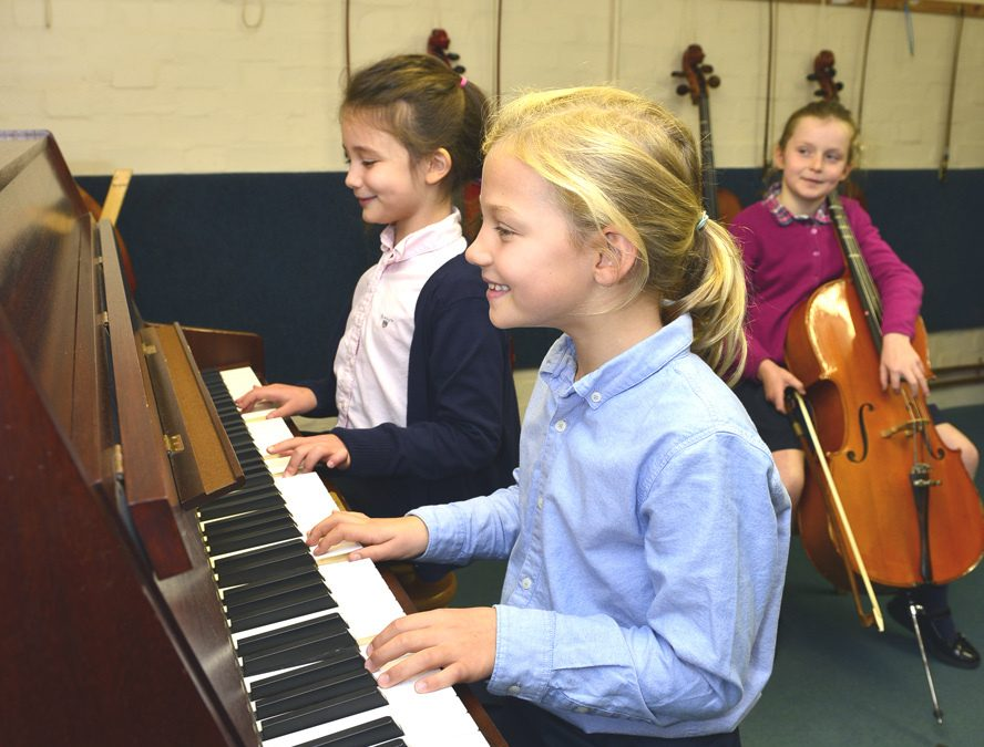 Pupils Benefit from Music Lessons Says Abberley Hall Headmaster
